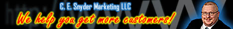 Robert G Testimonial - Because C. E. Snyder Marketing LLC Helps You Get More Customers!