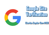 Google Site Verification - Charles Snyder Raw #139: It's unscripted, unplanned and uncooked!