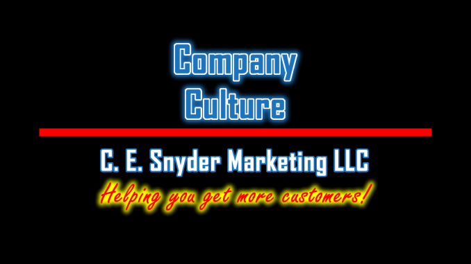 C. E. Snyder Marketing LLC: Company Culture