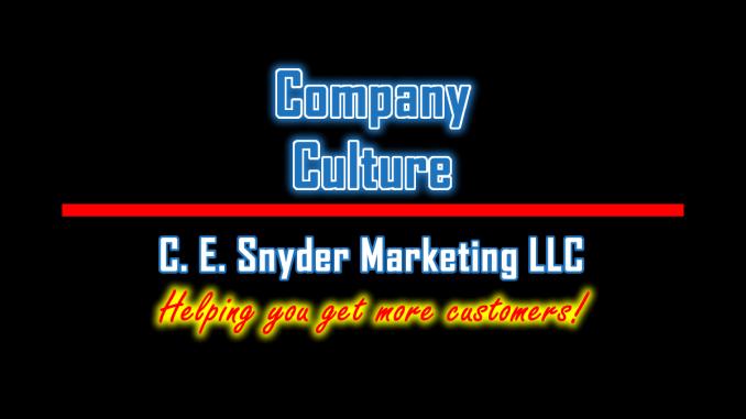 C. E. Snyder Marketing LLC: Company Culture
