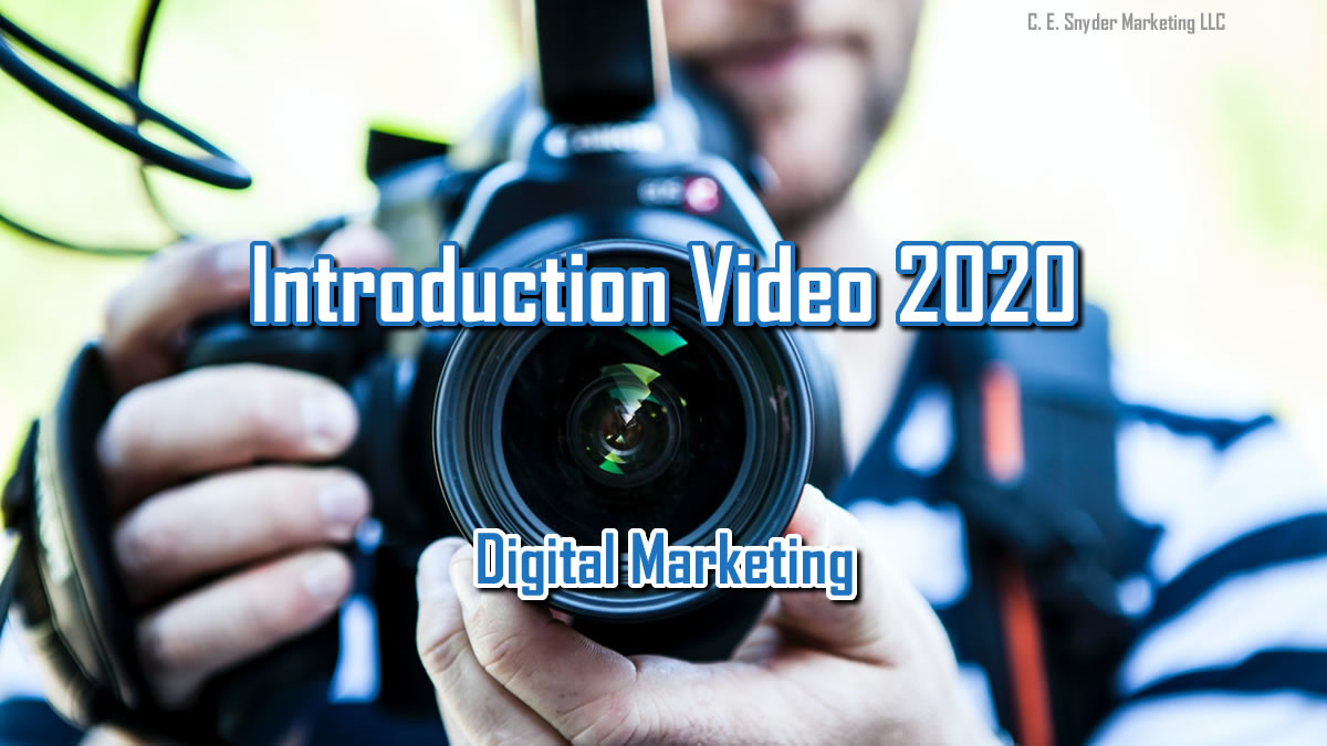 Introduction Video 2020