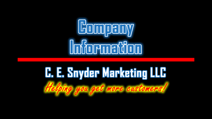 C. E. Snyder Marketing LLC: Company Information
