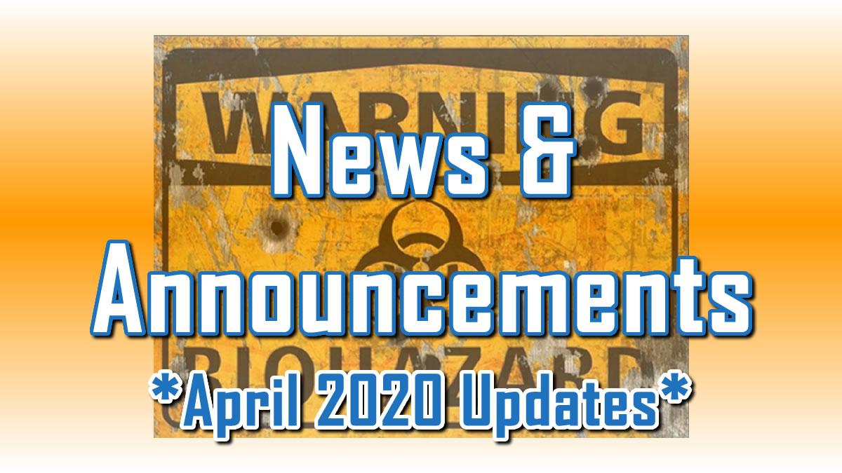 April 2020 Updates