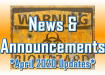 April 2020 Updates - News & Announcements from C. E. Snyder Marketing LLC