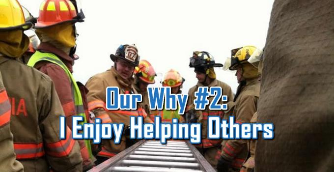 I Enjoy Helping Others - Our Why by C. E. Snyder Marketing LLC