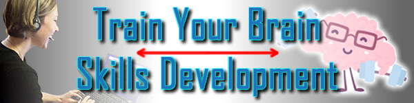 Train Your Brain - Skills Development That Matters! Webinars and online classes and more!