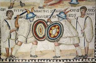 Detalles de mosaicos