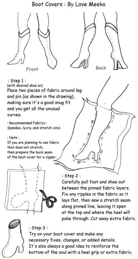 How To Make Shoe Covers : covers, Fitted, Covers, [Tutorial], Www.cestlasara.com