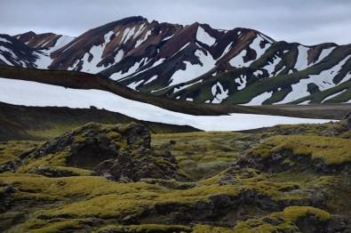 Landmannalaugar je překrásná oblast, jejíž dominantou jsou tzv. Duhové hory.