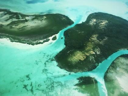 Přelet na Ambergris Caye