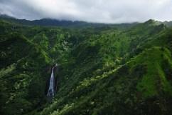 Let helikoptérou nad Kauai