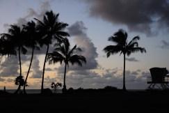 Soumrak nad Haena Beach