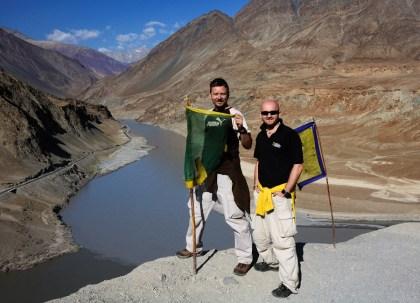 Soutok řek Indus a Zanskar