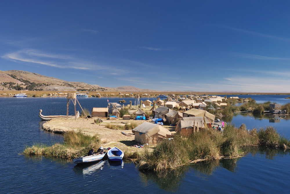 El lago de Titicaca | Islas Flotantes