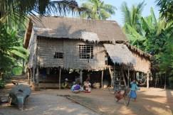 Nedaleko vesnice Kompong Phluk