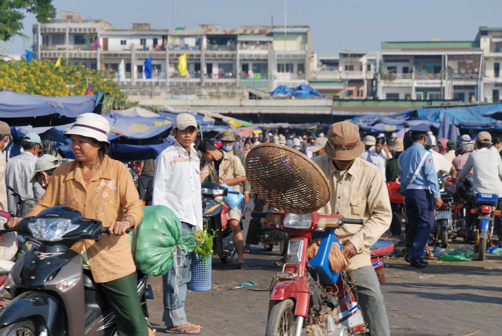 Ulice Phnom Penhu