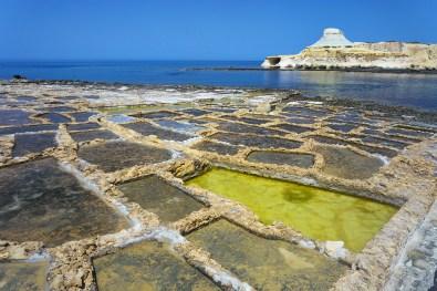 Gozo | solná pánev Xwejni