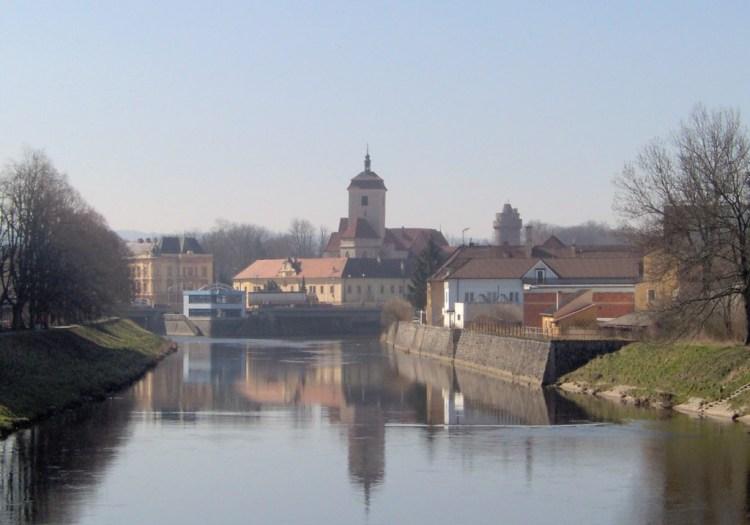 Pohled na soutok řek