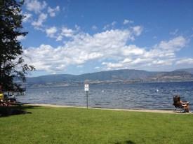Petite trempette au bord du lac
