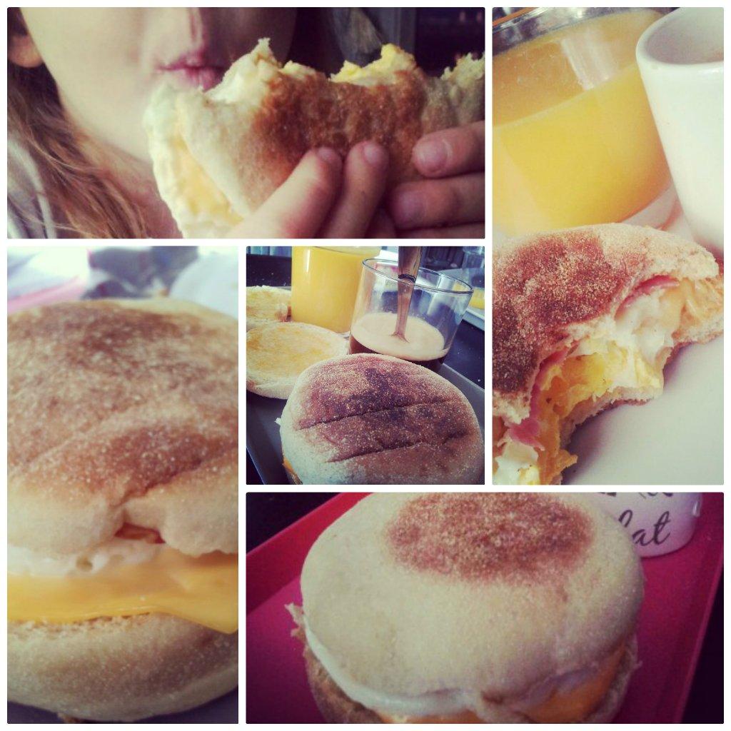 Recette de l'egg muffin maison comme au Mc Do