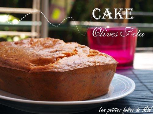 Cake olives feta tomate, recette facile pour un apéro dînatoire réussi