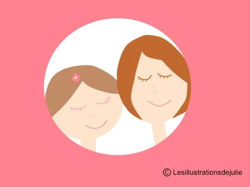 mum and girl