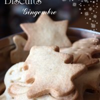Biscuits de Noël au gingembre {recette ginger biscuits}
