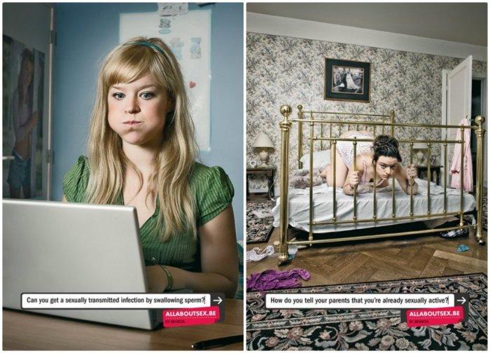 Top des affiches pubs les plus sexy et drôles