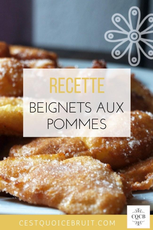 Recette des beignets aux pommes pour Mardi Gras #recette #recipe #beignets #mardigras