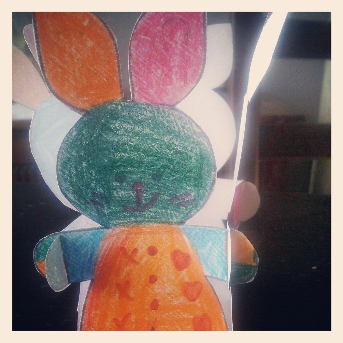 Paniers lapin de Pâques {tuto DIY}