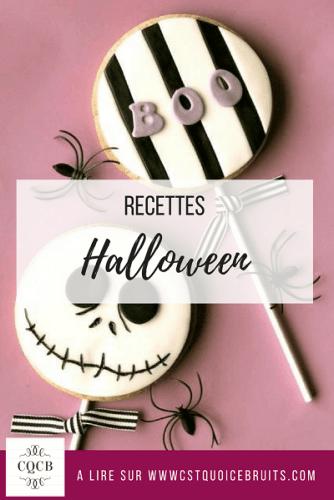 Recettes spécial Halloween à retrouver sur https://cestquoicebruit.com #halloween #recettes