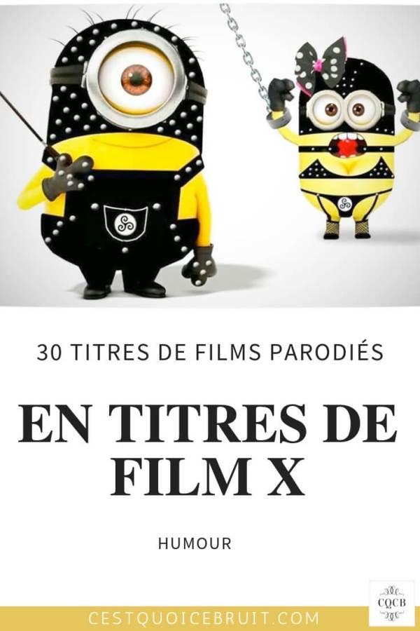 30 titres de films parodiés en films X #humour #cinéma #mardisexy