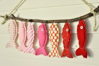 Guirlande DIY poisson d'avril