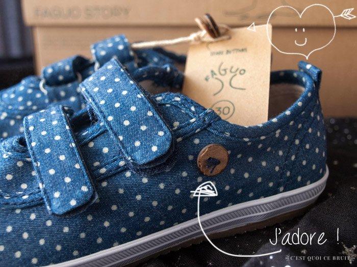 Miss L chaussée par Faguo chaussures enfants