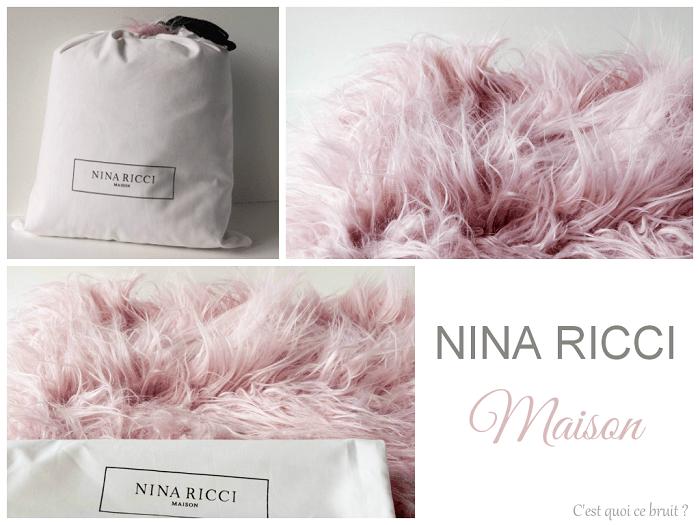 Nina Ricci Maison, entre douceur et élégance décoration