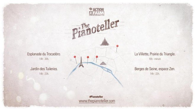 The Pianoteller d'Action contre la faim