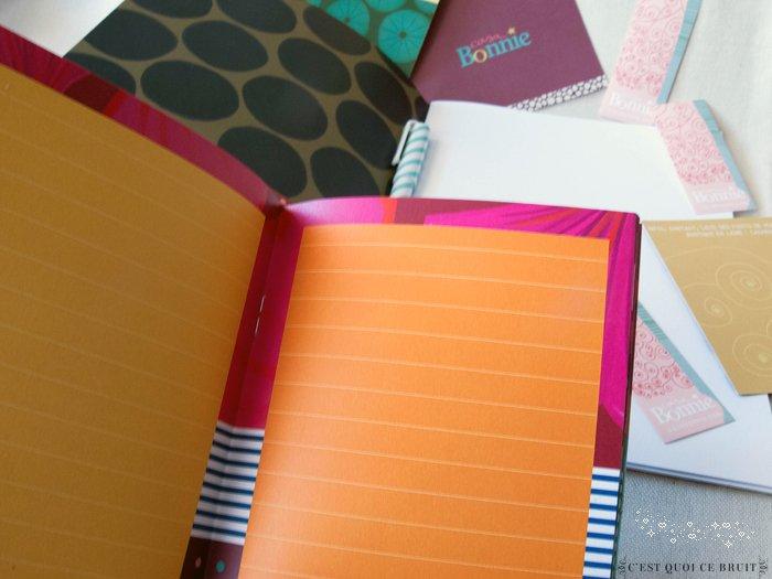 Égayer mon quotidien avec des carnets colorés Casa Bonnie