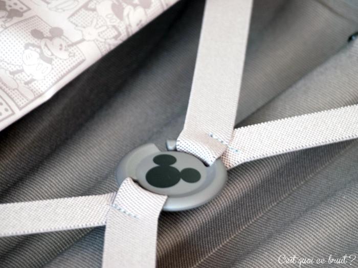 Celle qui partait à Disneyland avec sa valise Disney ! Disney by samsonite (valise Cosmolite)