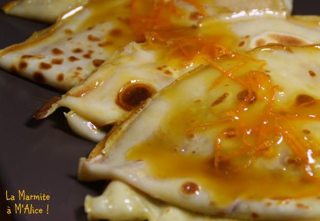 5 recettes de crêpes pour la Chandeleur : crêpes suzette lamarmiteamalice