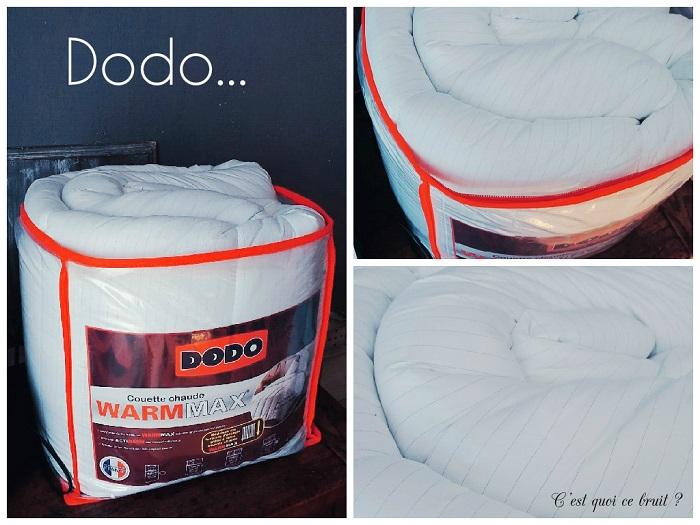 Bien au chaud sous ma couette Dodo Warmmax