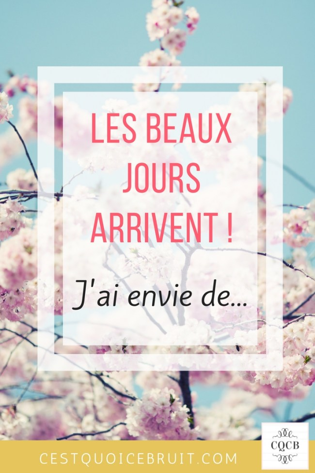 Inspiration de printemps et wishlist d'envies #printemps #inspiration #feelgood #bienetre