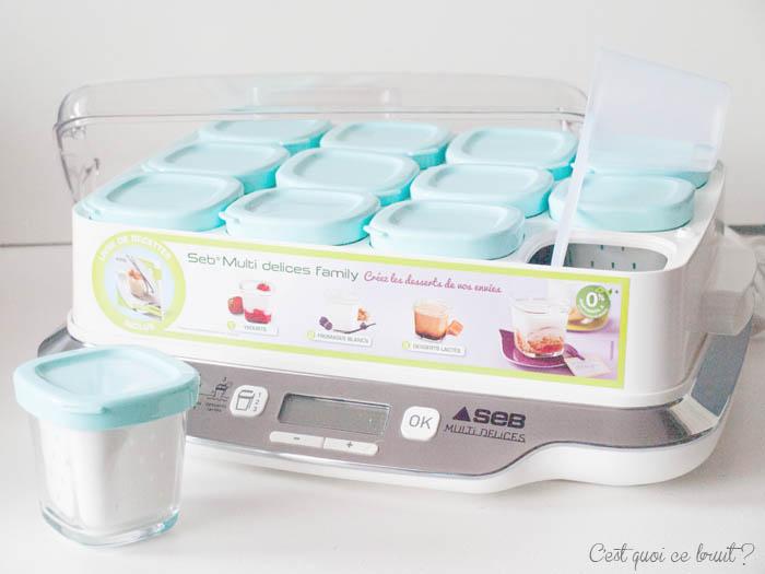 Mes yaourts maison avec la Multi Délices de Seb #concours