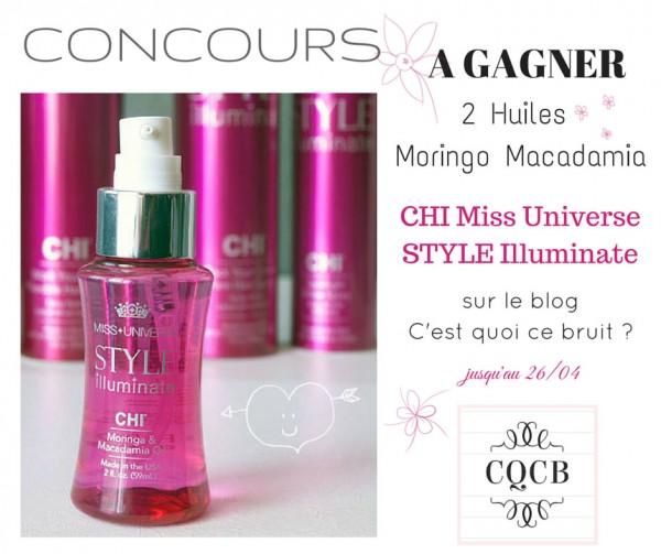 Beauté des cheveux Chi Miss Univers