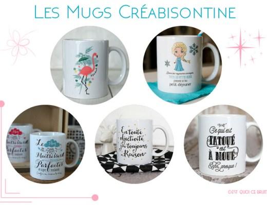 Sélection Etsy : Creabisontine, les jolis mugs personnalisés