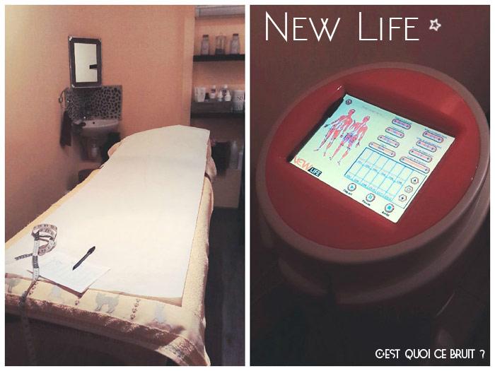 J'ai testé New Life pour réduire ma cellulite à Full Zen La Garde