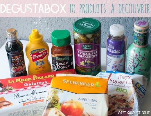 10 produits sympas dans la Dégustabox, box gourmande