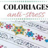 Coloriage anti-stress pour adultes à imprimer