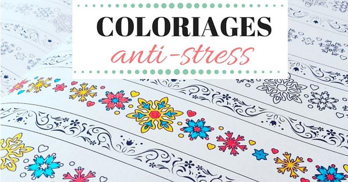 Coloriage anti-stress pour adulte à imprimer gratuitement ou à s'offrir