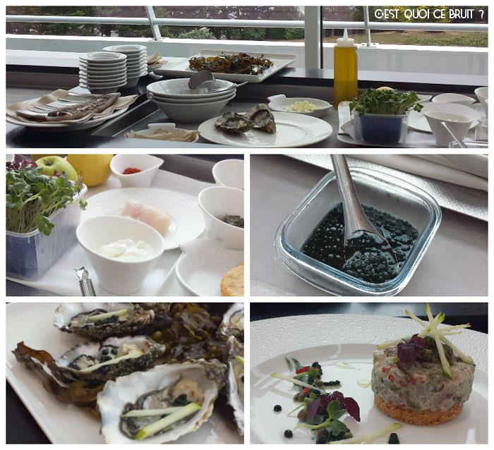 Cuisiner la spiruline marine avec Christian Bourhis au Miramar Crouesty