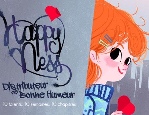 Happy ness, histoire pour enfant